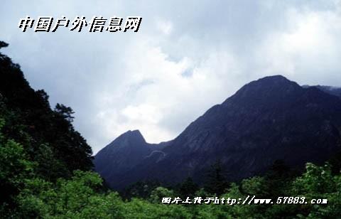 黑竹沟国家森林公园图片