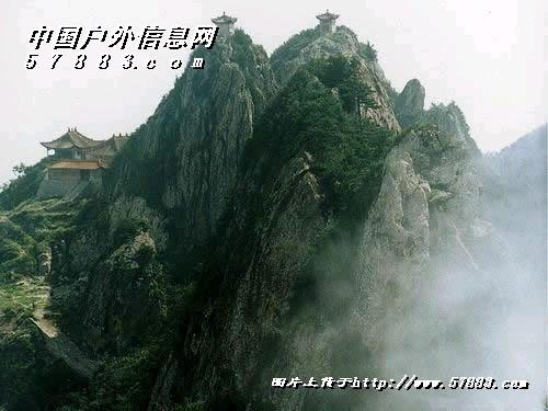 老君山风景区内线路图